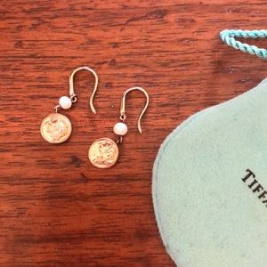 Tiffany and Co Gold Earrings